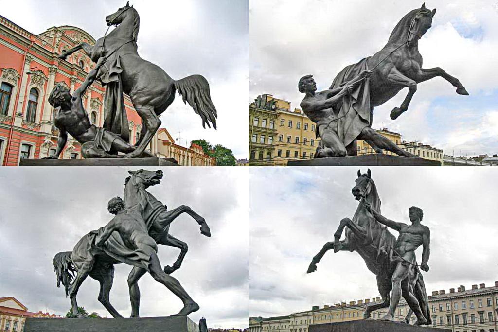 аничков мост кони